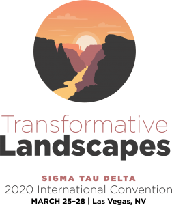 Sigma Tau Delta 2020 International Convention Logo